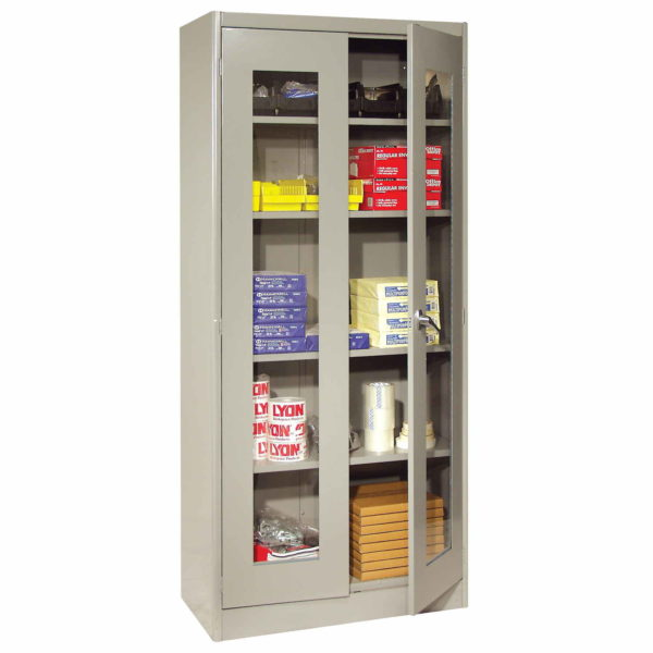 lyon economical 1000 series visible cabinet 1080V putty - props